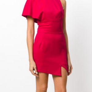 ALEXANDRE VAUTHIER asymmetric mini dress