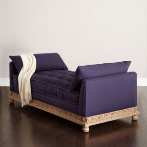 Horchow Morning Glory Chaise