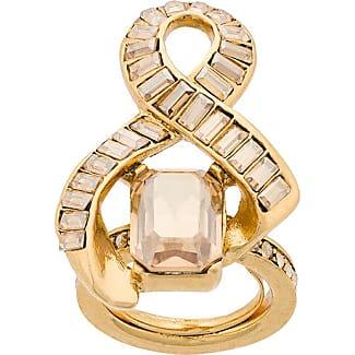 OSCAR DE LA RENTA entwined ring