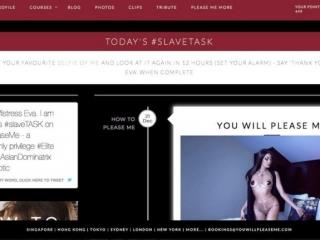 Mistress Eva slave training