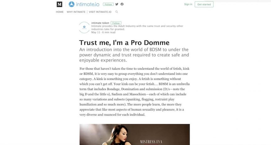 Pro Domme trust BDSM interview