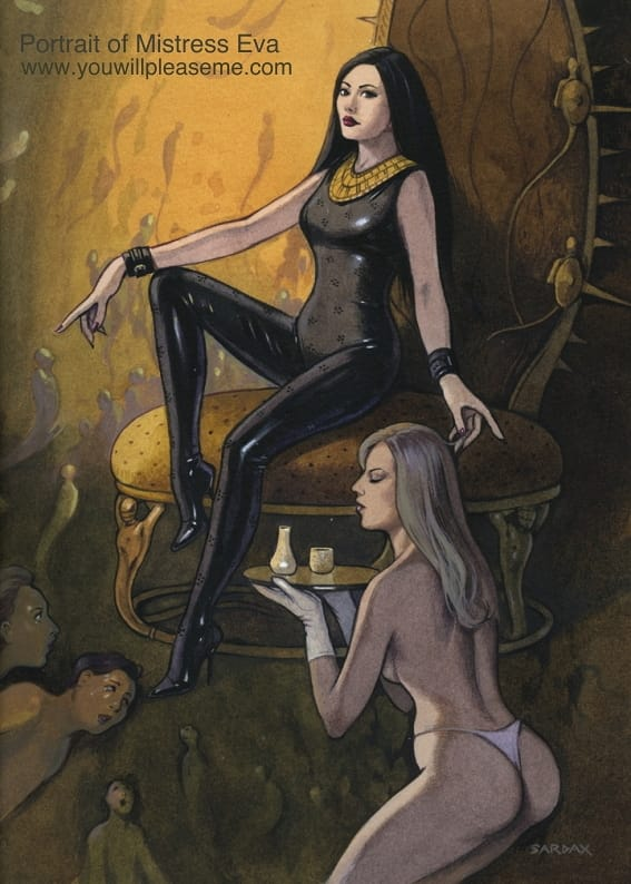 Femdom Art Sardax Mistress Eva